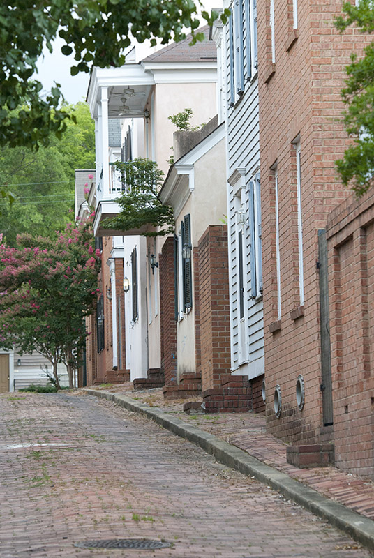 The Cotton & Planters Row, an area of the Cotton District housing development