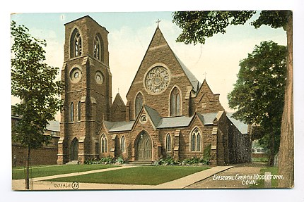 1910 postcard image of the church.