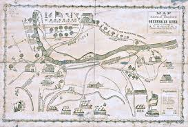 Map of Greenbrier River Battle