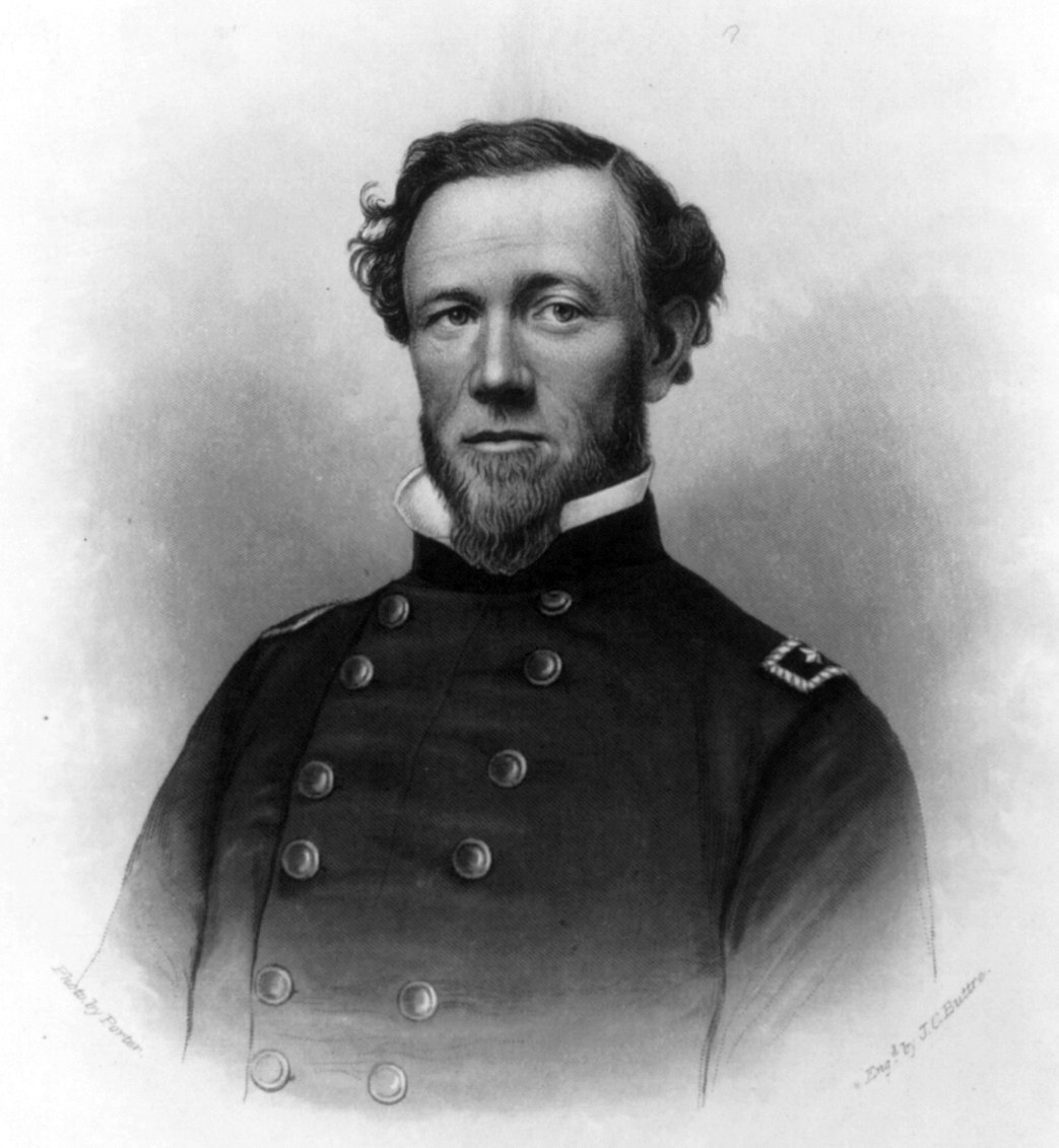General Joseph J. Reynolds, who commanded Union troops at the battle. He later commanded different Union corps in the deep South. A decade after the Civil War, he was court-martialed for misconduct in the Great Sioux War of 1876.