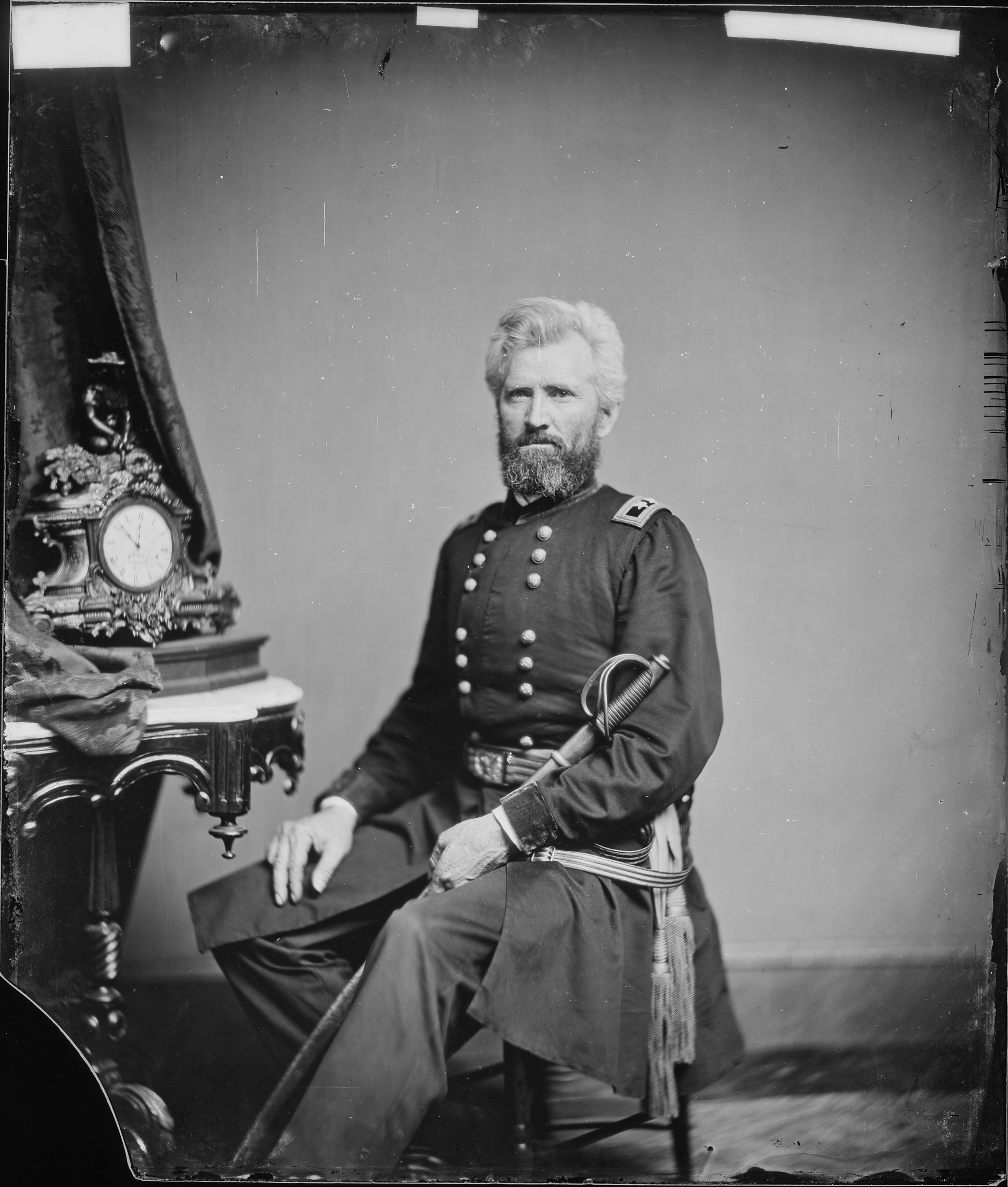 General Robert Milroy. Aggressive to a fault, he commanded Union troops two months later at the Battle of Allegheny Mountain. He was defeated by Stonewall Jackson at the Battle of McDowell, and again by General Ewell at 2nd Winchester.