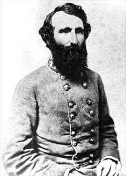 General William B. Taliaferro commanded the Rebel center during the battle. Later served under Stonewall Jackson, with whom he had a contentious relationship. Also commanded at Battery Wagner in 1864 against the attack of the 54th Massachusetts.