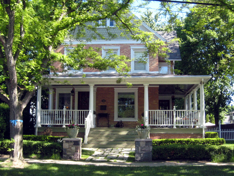 Burton McCafferty House, south elevation, 2020