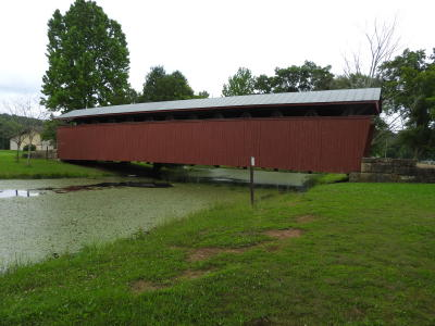 Staats Mill Covered Bridge at the Cedar Lakes location