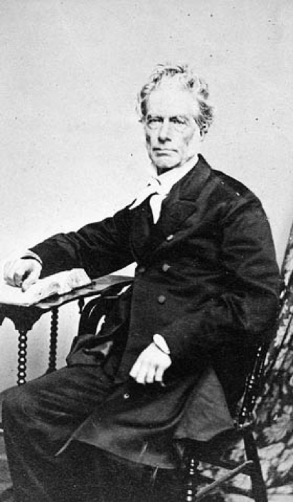 Michael Willis, President of Anti-Slavery Committee 1851 and Agnes Willis' Husband.