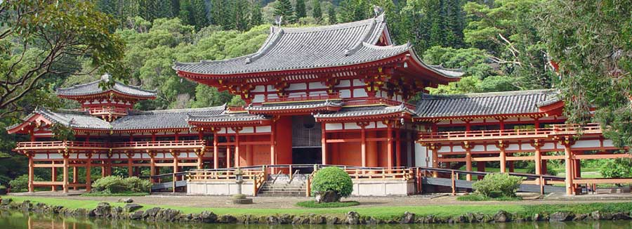 Byodo-In Front View