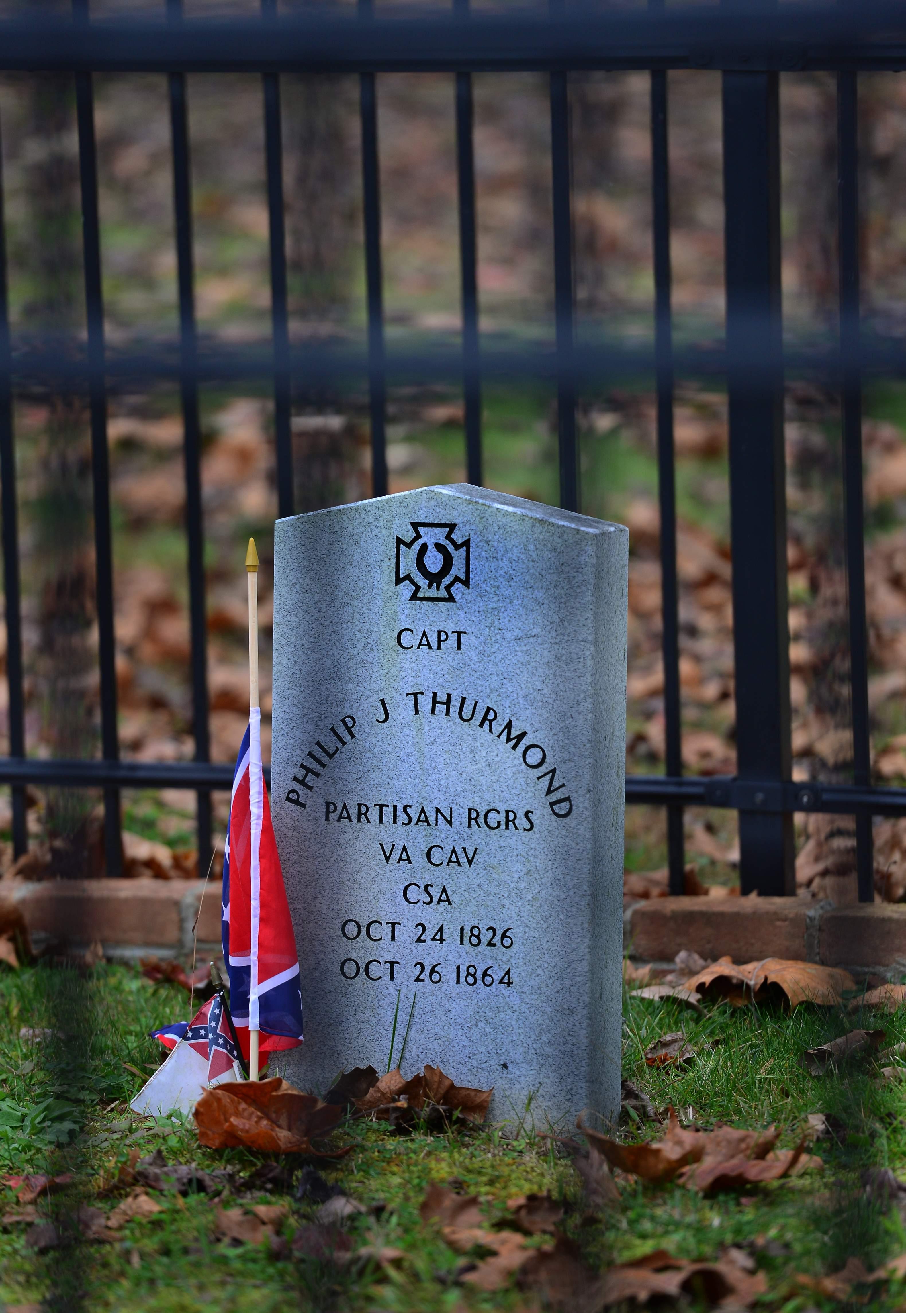 Thurmond's New Grave