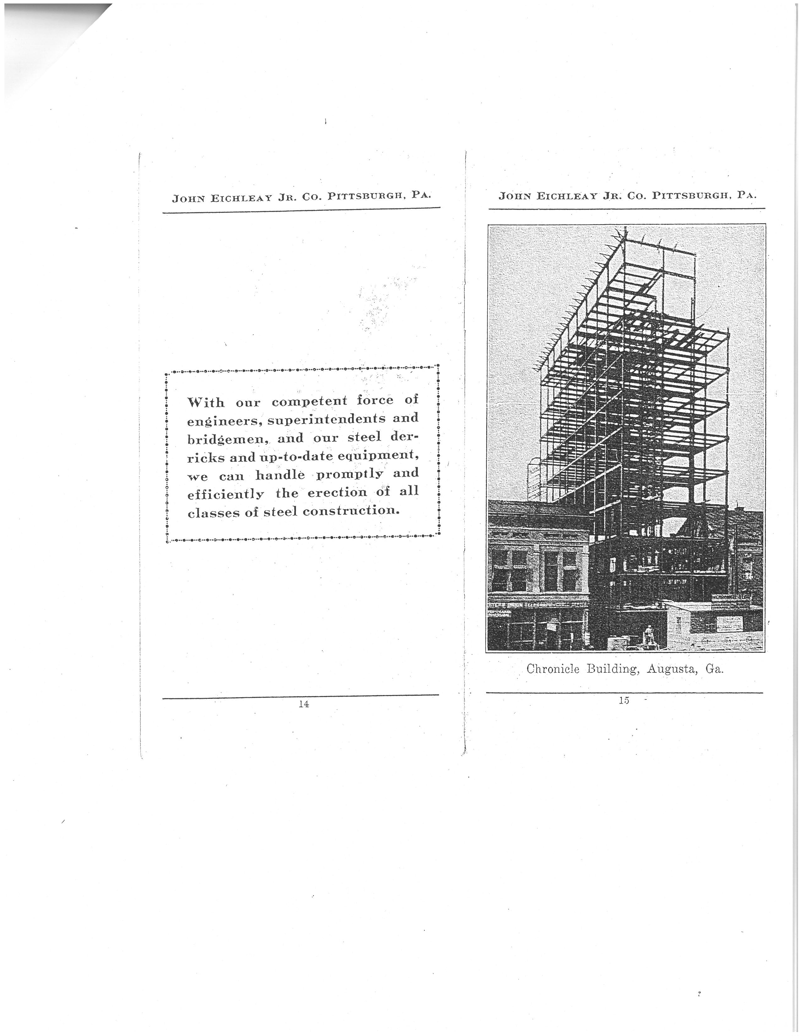 Construction Phase of Chronicle Building