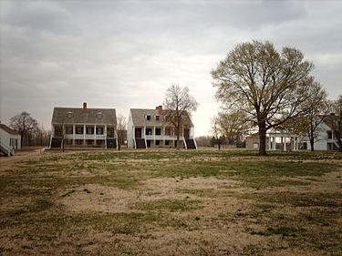 Fort Scott includes twenty buildings that visitors can tour