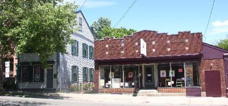 Duveneck House (Left) and Duveneck Arts & Cultural Center (Right)