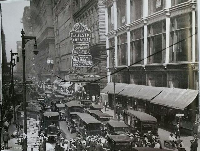 1910 photo  -- One of many photos found at Cinema Treasures.