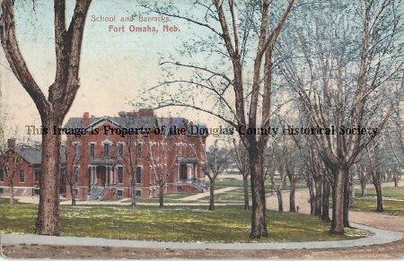 Fort Omaha School and Baracks (1912)