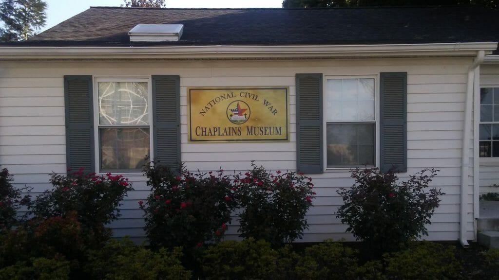 Front of Civil War Chaplains Museum
