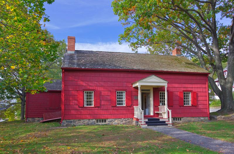 Jacob Purdy House, where Washington set up his command post.