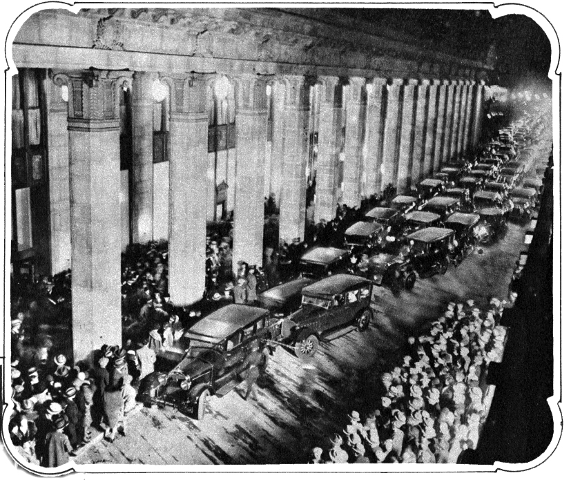 Civic Opera House, Opening Night, November 5, 1929.