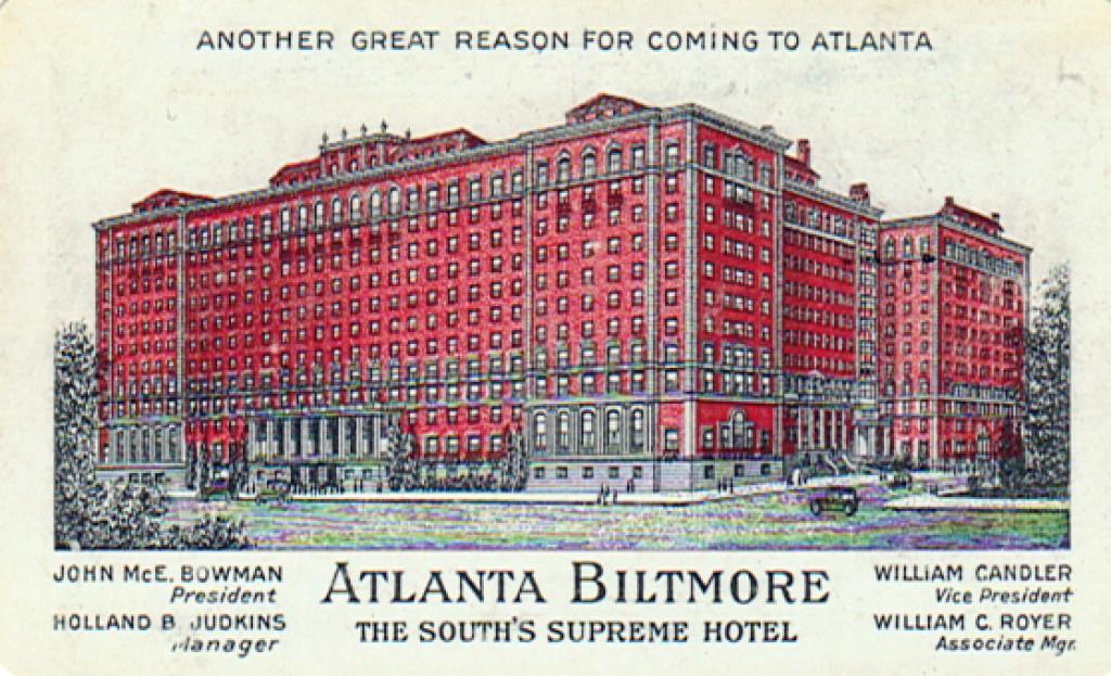 Postcard of Biltmore Apartments