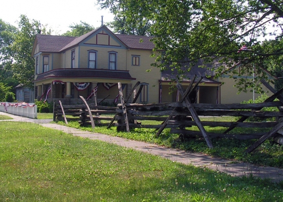 The General John A. Logan Museum is located within the Christopher C. Bullar House.