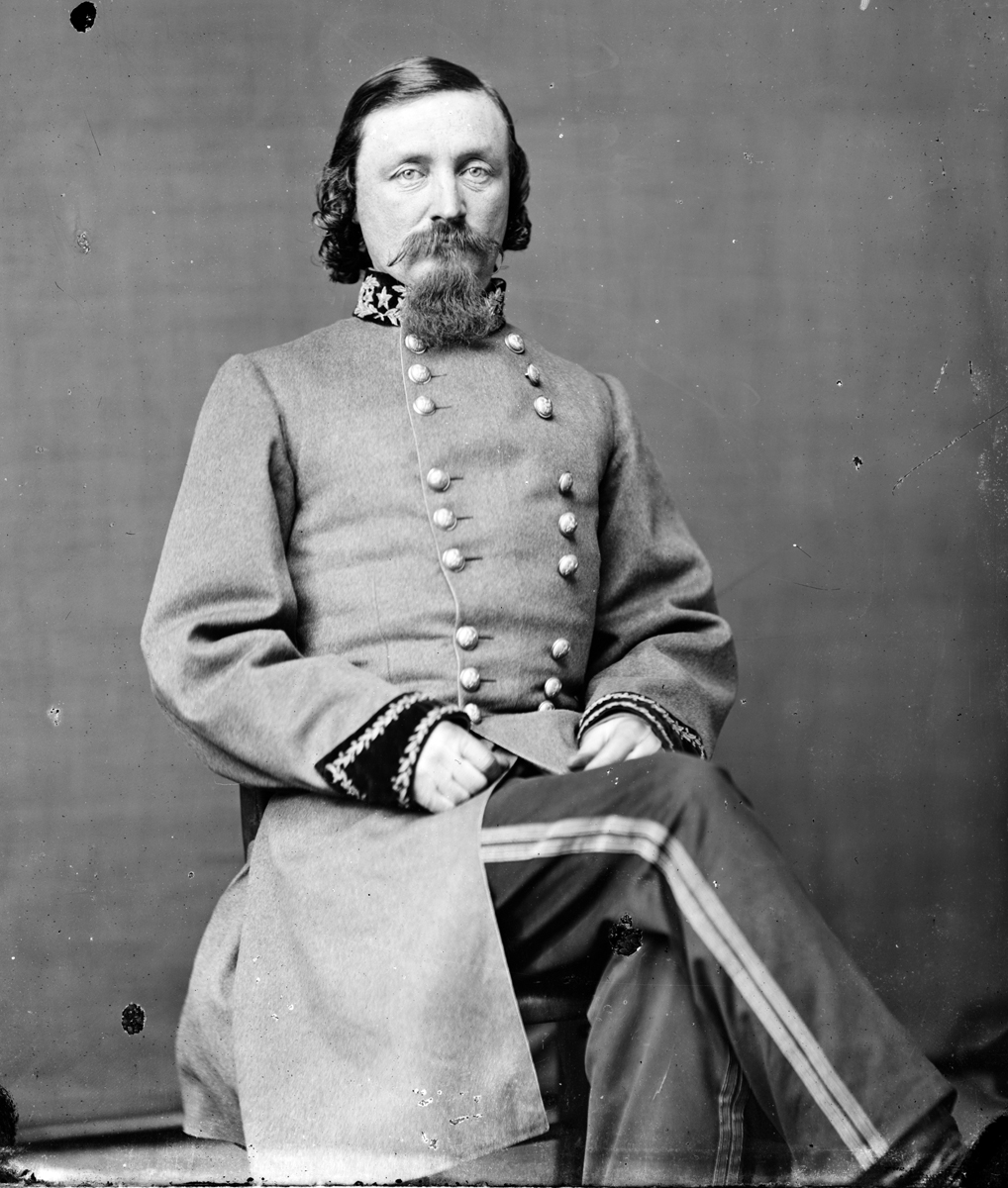 General George Picket (1825-1875), commander during the Mexican-American War and the Civil War.