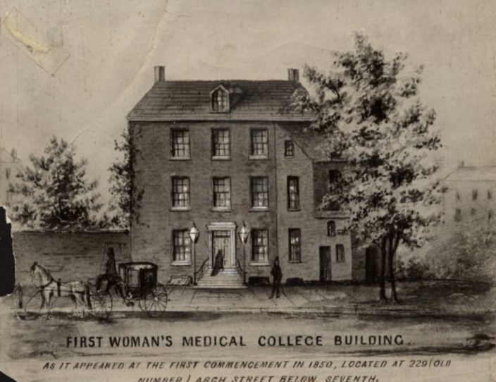 In 1850, the first medical college for women in the United States opened in Philadelphia. The college was named the Female Medical School of Pennsylvania.