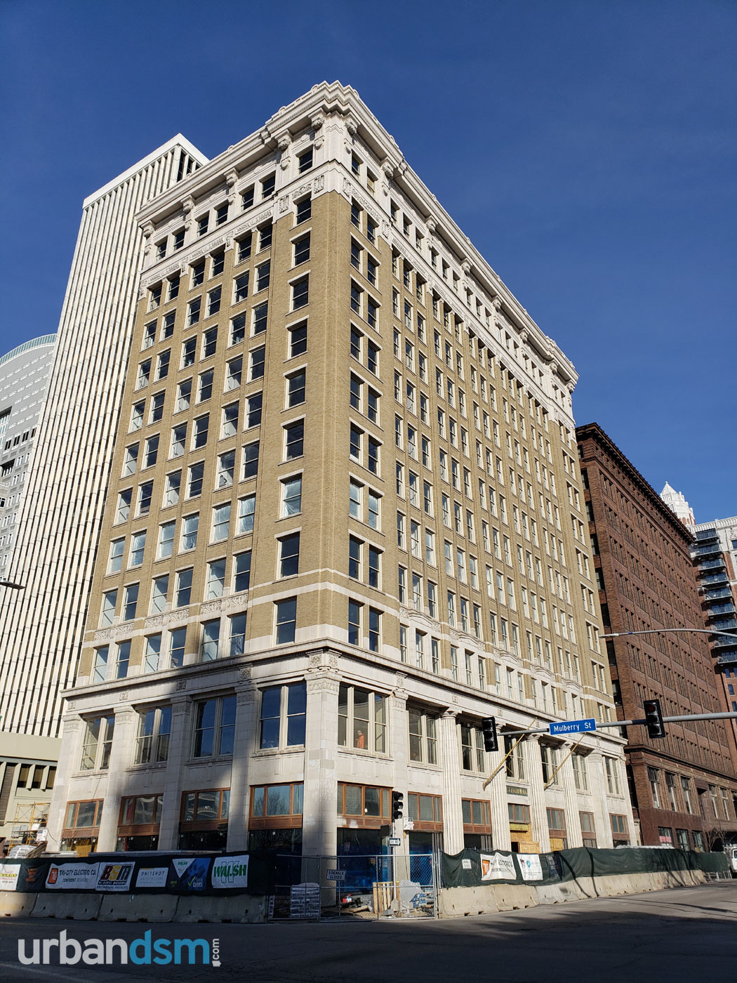 Hippee Building (Modern: Surety Hotel). Photo taken in March, 2020.