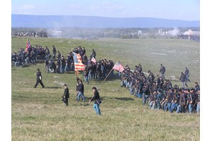 Reinactment at Cedar Creek Battleground