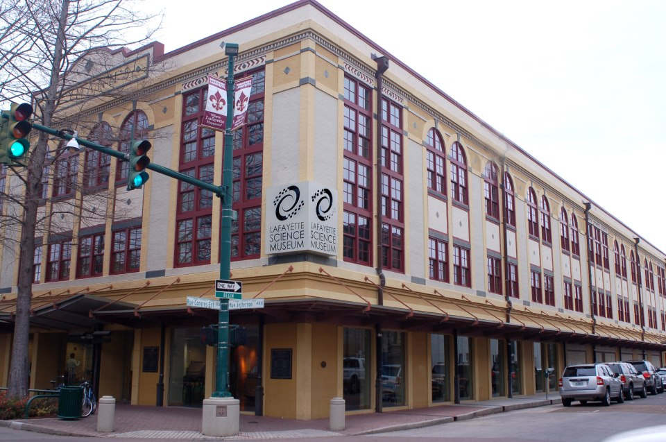 The museum is located in a former department store and traces its roots to 1969 when community members organized around the idea of a public science museum.
