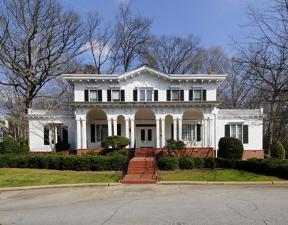 2012 photo of Beattie House when it was a Woman's Club (Fitpatrick 2012)