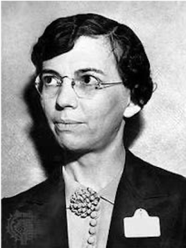 A picture of Florence Seibert from the National Woman's Hall of Fame web page, where she was honored in the year 1990 for her many efforts in the field of science.