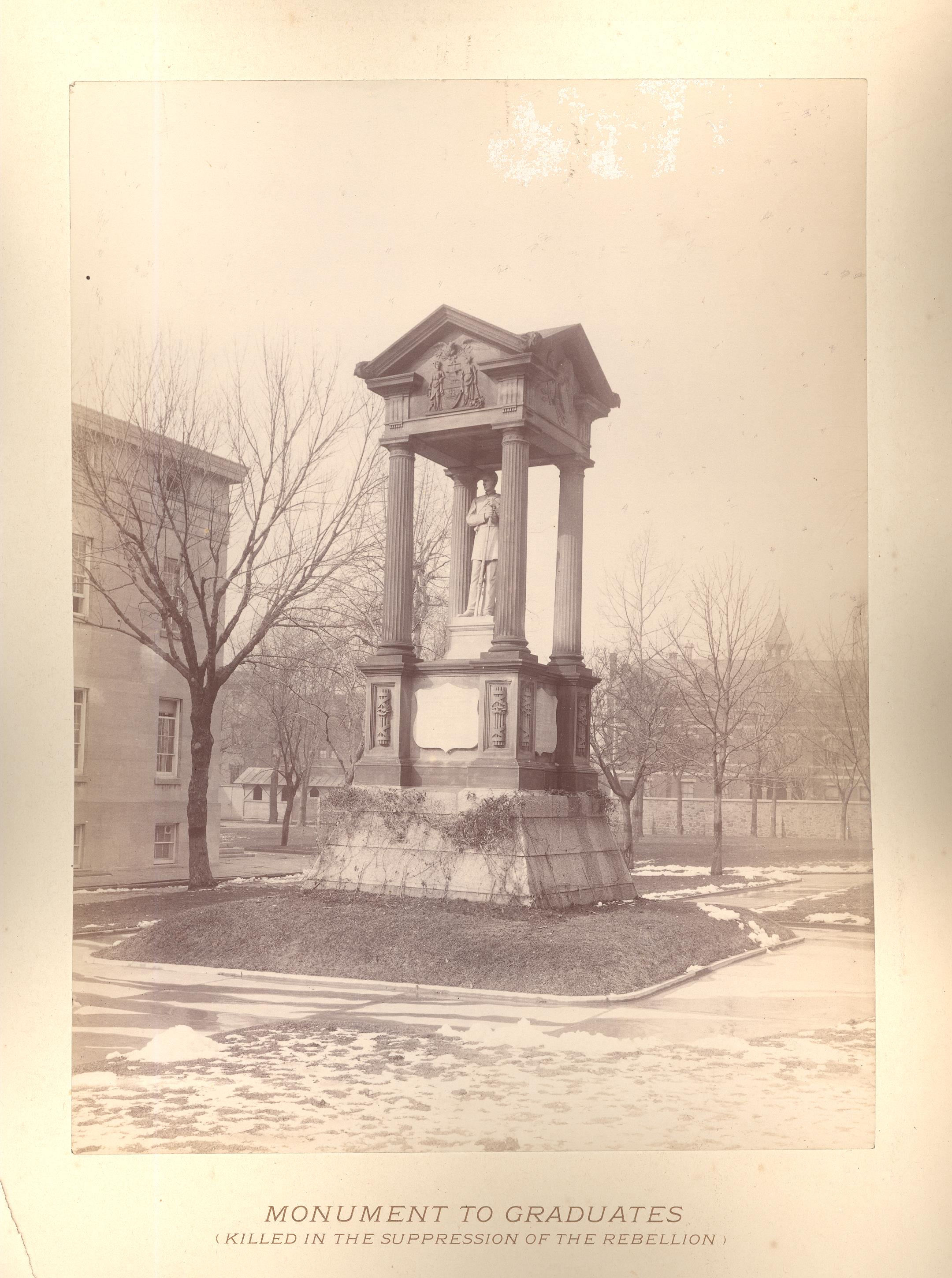 1869 Soldiers' Monument