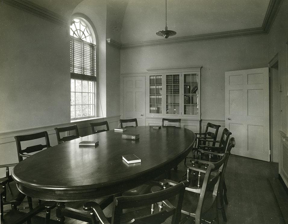 Bulfinch Hall, seminar room. Photograph by Paul Weber