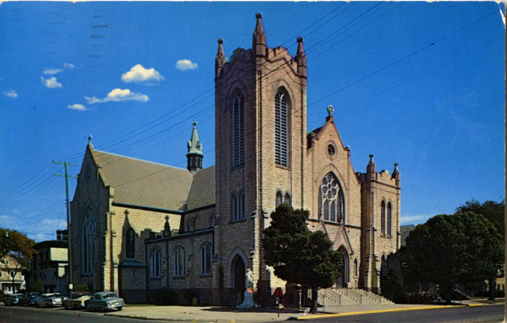 St. Joseph's Church, c. 1965.