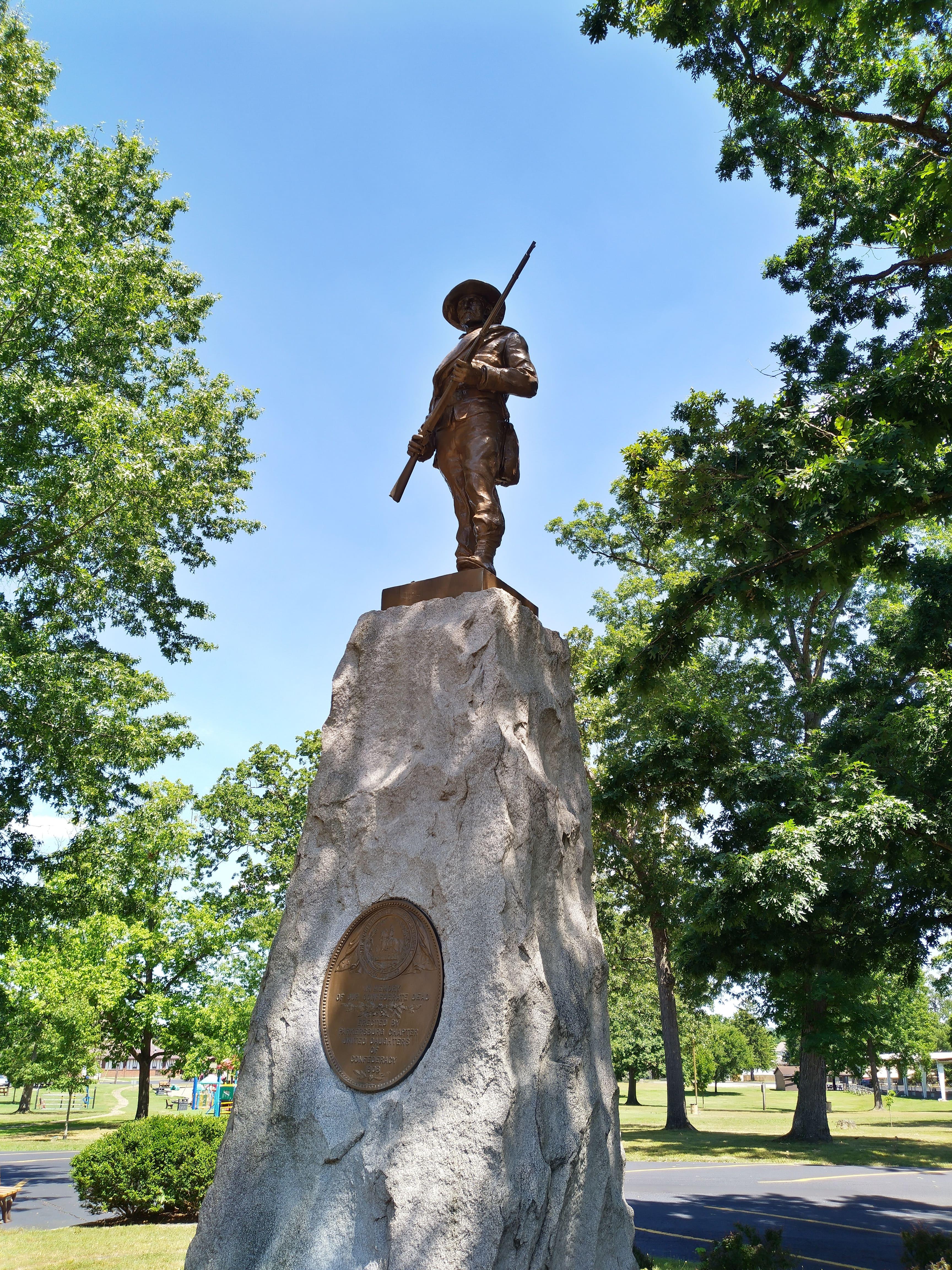 Parkersburg Confederate Monument.