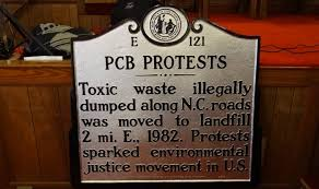 PCB Protest historical marker