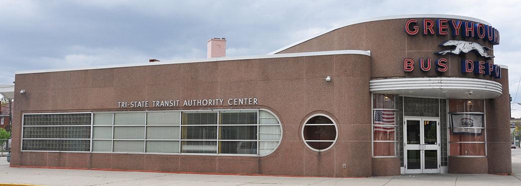 Huntington Greyhound station, now the Tri-State Transit Authority Center