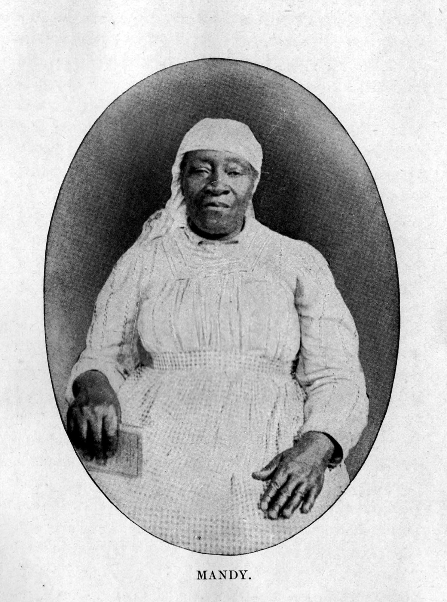 Amanda Bugg, born into slavery on Thomas Miles Watson's plantation