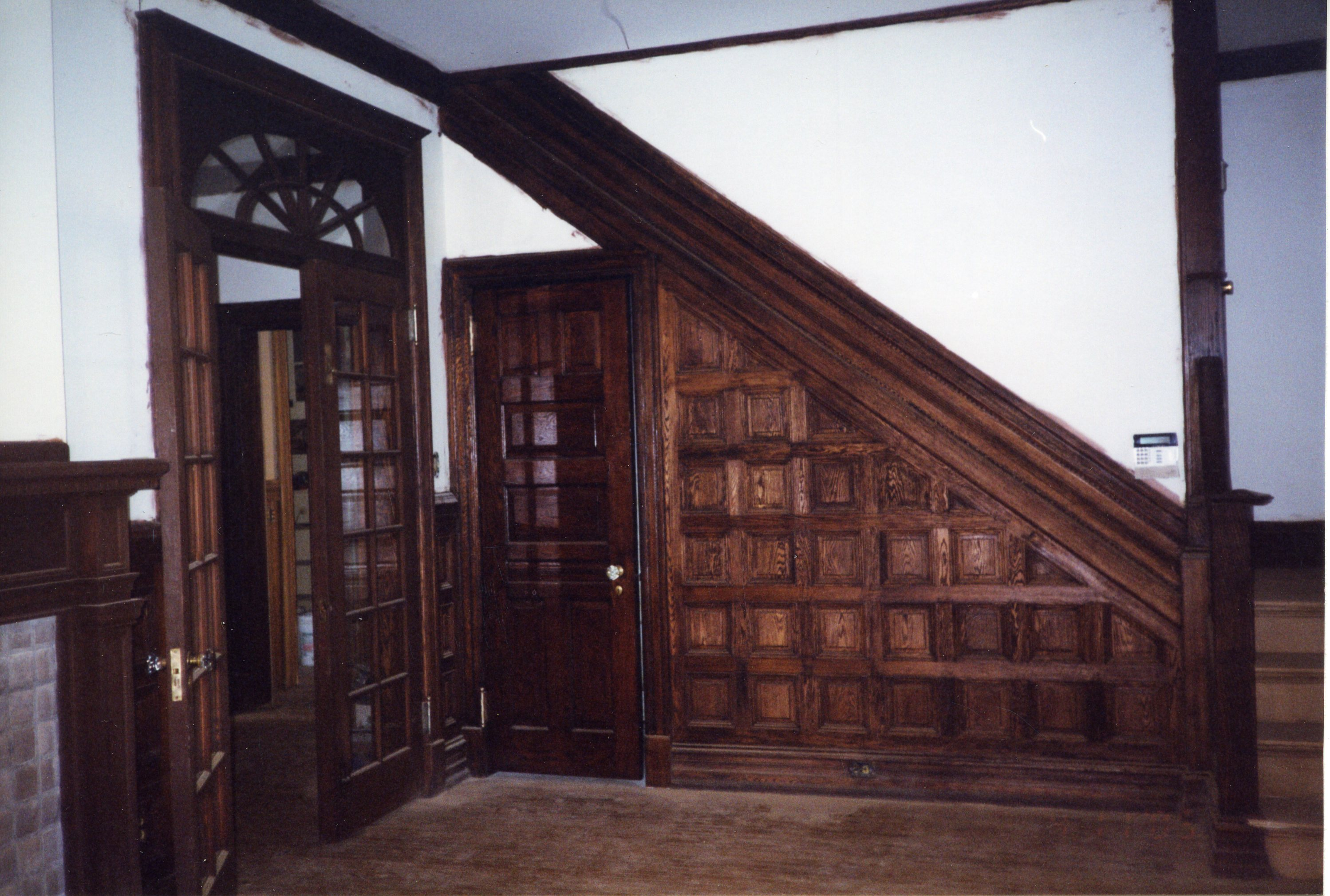 Foyer Staircase after restoration efforts (2005)