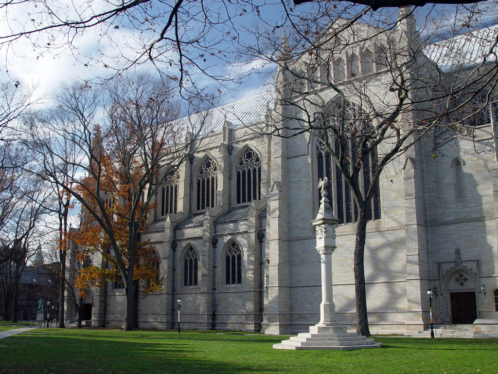 2003 photo of the Princeton University Chapel