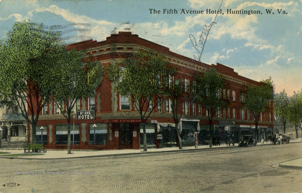 The Fifth Avenue Hotel, circa 1917