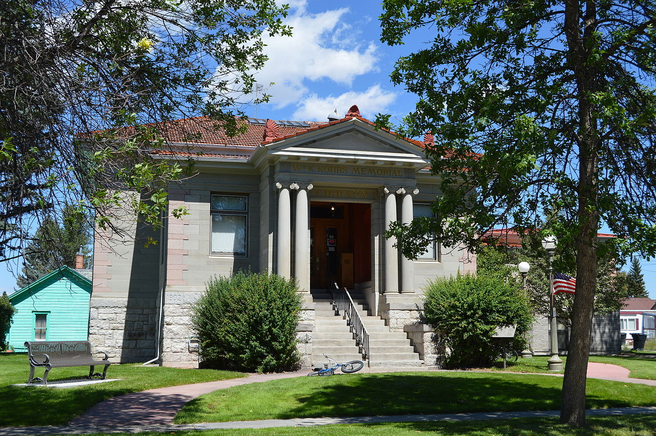 The William K. Kohrs Memorial Library was built in 1903.