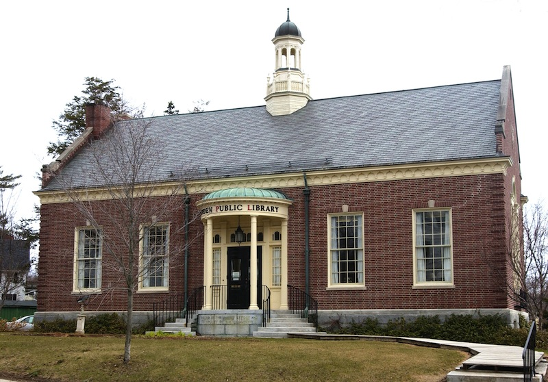 This version of the Camden Public Library was completed in 1928.