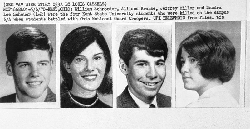 The 4 Students that were killed.