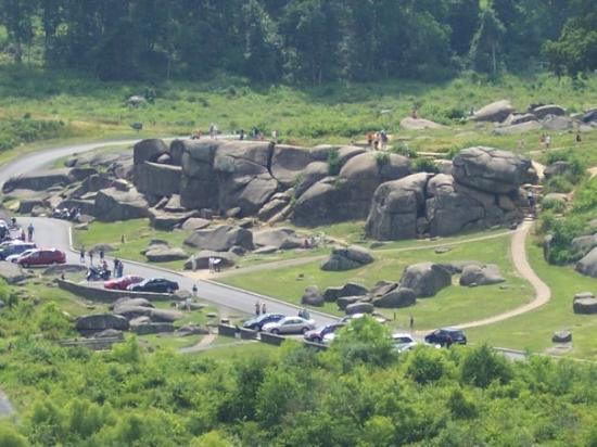 View of Devil's Den from Little Round Top