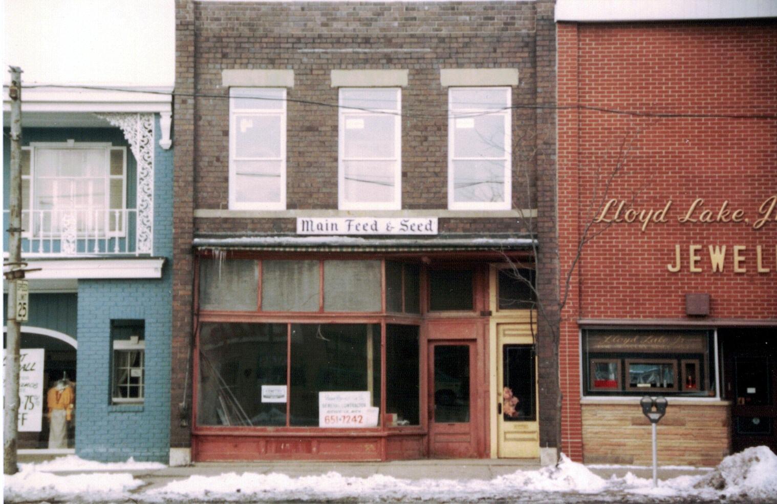 Lewis Ward Curtis Building, east elevation, 1982