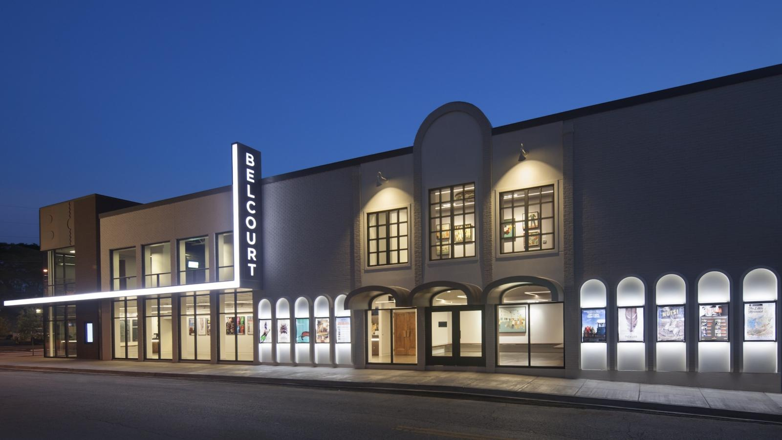 The Belcourt Theatre in Nashville