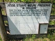 Welcome to the Jesse Stuart State Nature Preserve!