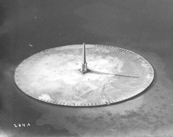 The island was perfectly round in 1922