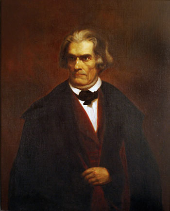 John C. Calhoun Portrait which hangs in the State Dining Room