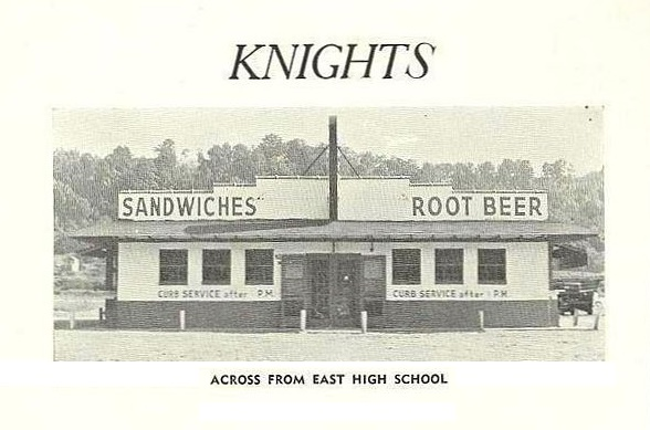 Knights Restaurant, which occupied the building before it was Fifth Avenue Wiggins
