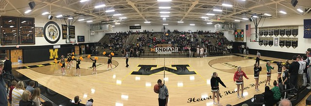 Milan High School from the inside