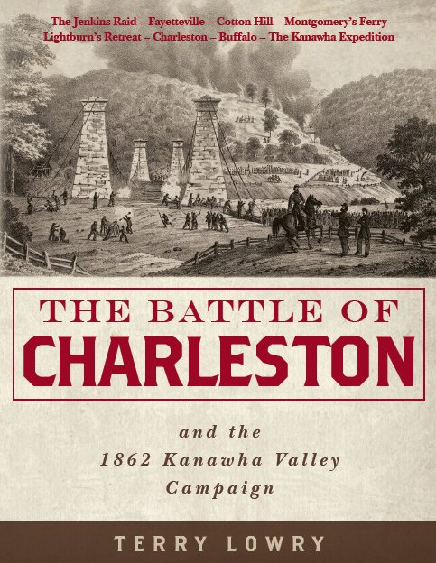 """The Battle of Charleston,"" currently the most exhaustive book on the battle, by Terry Lowry. 35th Star Publishing, 2016."